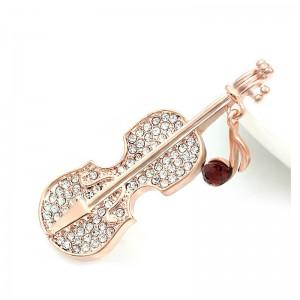 Zlatá brošňa husle
